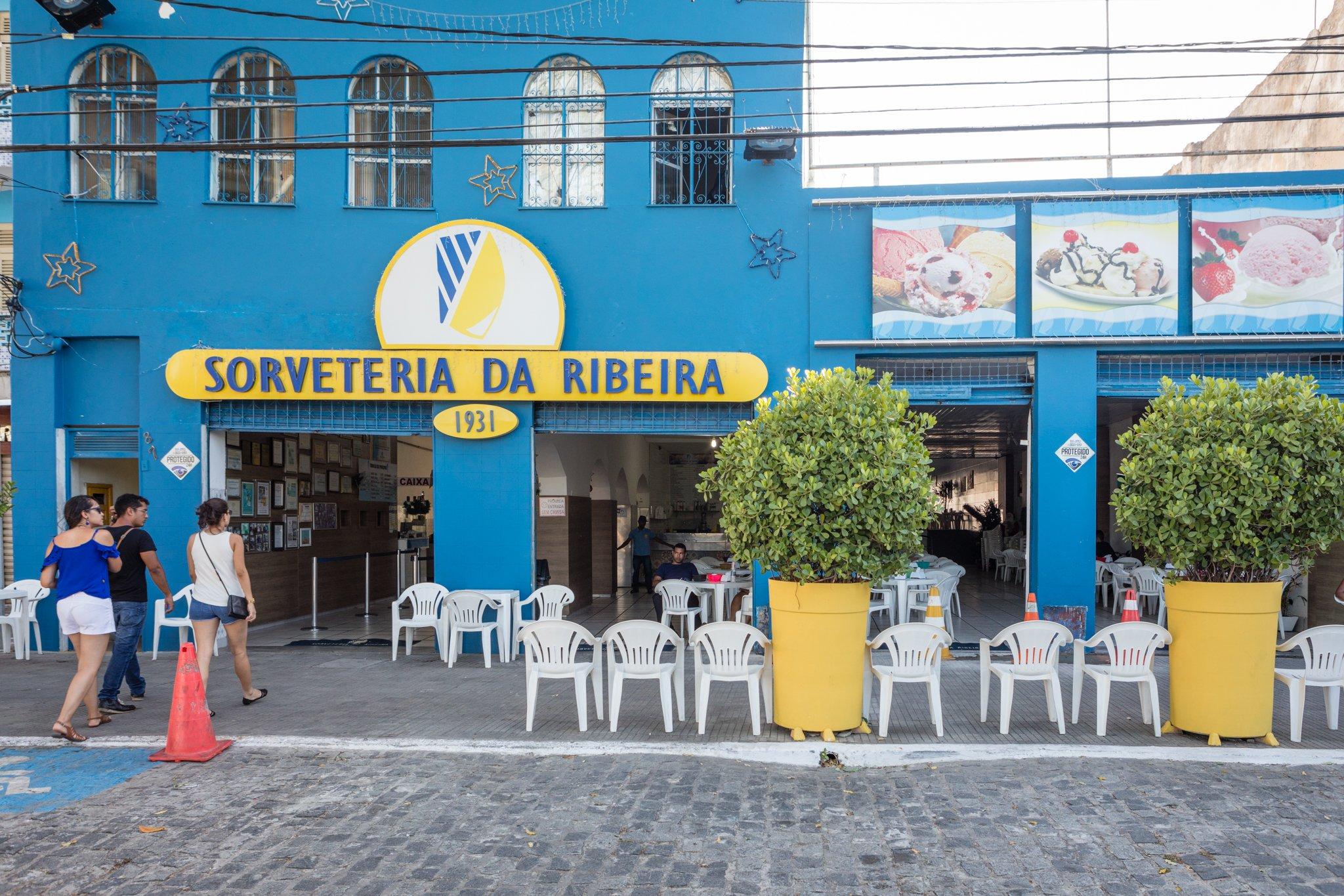 Sorveteria da Ribeira - Salvador da Bahia