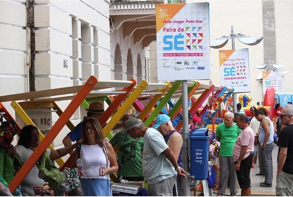 e8f8b8560 Feira da Sé. Salvador Bahia. Foto das redes sociais da própria feira.