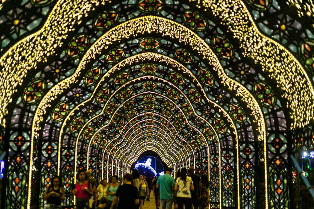 Resultado de imagem para luzes de natal na cidade de salvador 2019
